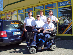 Handicap Team in Zinnowitz